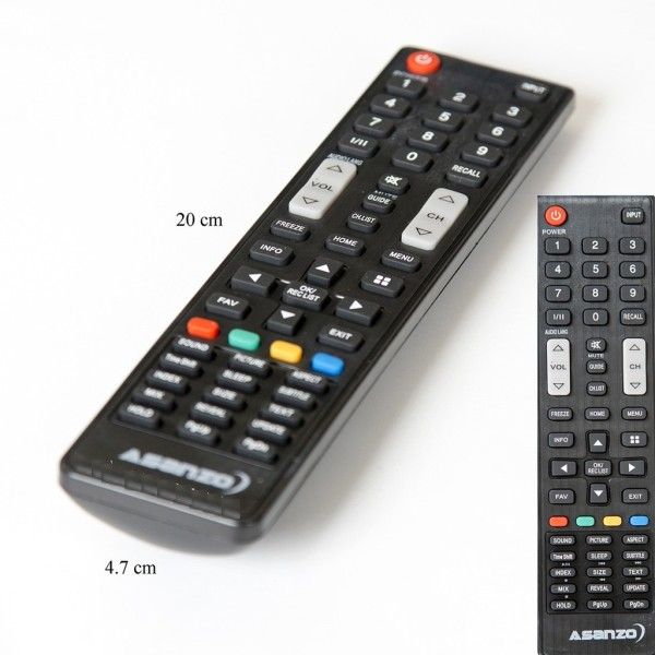 Bảng giá [Nhập ELJAN11 giảm 10%, tối đa 200k, đơn từ 99k]Asanzo 3D vừa - Remote điều khiển Tivi Asanzo Smart thông minh