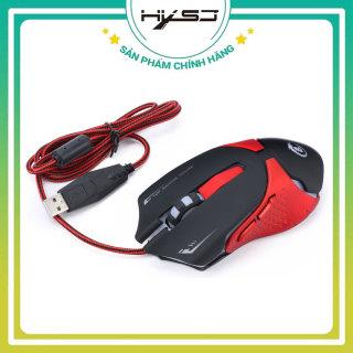 [TẶNG LÓT CHUỘT] Chuột Game Có Dây HXSJ A903, Chuột Quang có dây sử dụng công nghệ quang học cao cấp, định vị chính xác thiết kế khoa học cảm ứng nhanh nhạy-HÀNG CHÍNH HÃNG BẢO HÀNH 12 THÁNG. thumbnail