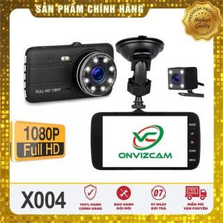 Camera Hành trình ô tô A8 A10 FHD 1080P - Quay camera trước sau, ống kính kép, Màn hình IPS 4 Inch siêu đẹp thumbnail