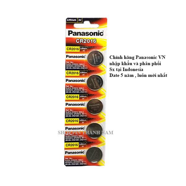 Bảng giá 5 viên pin CR2016 Panasonic