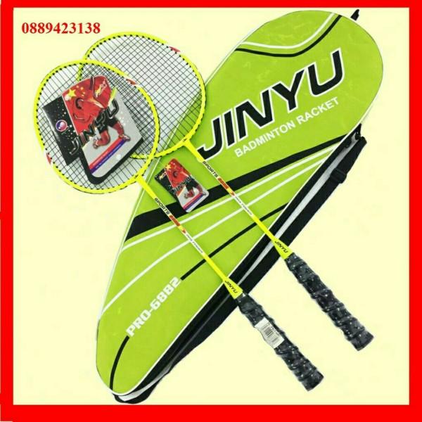 Bảng giá Vợt cầu lông JINYU khung hợp kim Bộ 2 vợt cầu lông