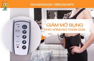 Đai Nóng Giảm Mỡ Bụng, Đai Massage Giảm Mỡ Bụng , Máy Massage Toàn Thân - Đai Massage Giảm Mỡ Bụng Cao Cấp VIBRO SHAPE - Giúp Đánh Tan Các Mô Mỡ Nhanh Chóng Và Hiệu Quả. thumbnail