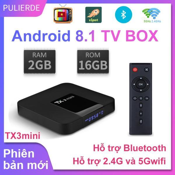 Bảng giá Android TV Box TX3 mini 2020 - 2G Ram và 16G Rom, Bluetooth wifi kép Điện máy Pico