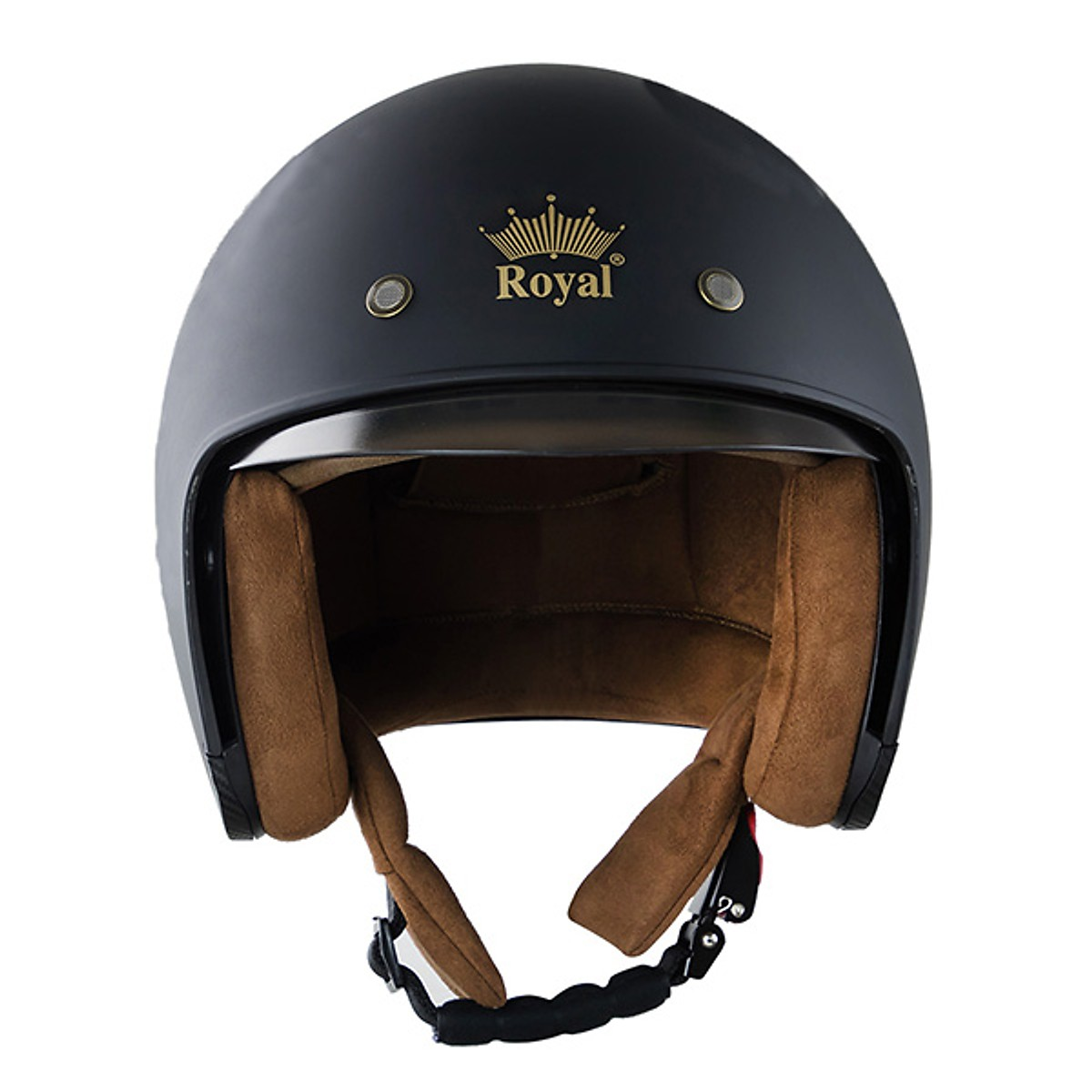 Giá Cực Tốt Khi Mua Mũ Bảo Hiểm Royal M139 - Đen Trơn