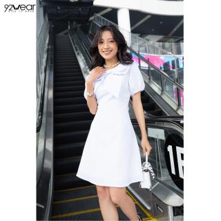 Đầm ngắn tay cổ nơ DEW0516 92WEAR thumbnail