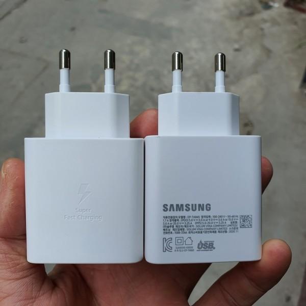 Bộ sạc hỗ trợ sạc siêu nhanh Samsung 65W EP-TA865