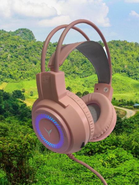 Bảng giá Tai nghe chuyên game G60 màu hồng chất lượng cao Cổng kết nối USB +3.5 Phong Vũ