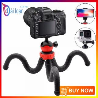 Chân đế máy ảnh Tripod Ballhead Mini Octopus Flexible (Giao Màu Ngẫu Nhiên) - HÀNG NHẬP KHẨU thumbnail