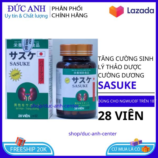 Viên Uống Đông Y tăng cường sinh lý CỰC MẠNH Sasuke - Giúp Bổ Thận, Tráng Dương, Tăng Cường Sinh Lý - HSD 2023- CHE TÊN SẢN PHẨM