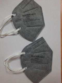 Khẩu trang N95 BH9501 xám than hoạt tính - MAYAN 1 túi 2 chiếc (Có xuất hóa đơn VAT cho ĐH từ 1 thùng) thumbnail