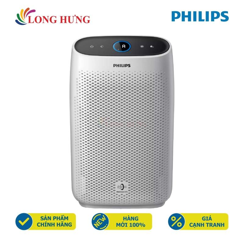 Máy lọc không khí Philips Series 1000 AC1215/10 - Hàng chính hãng - Phạm vi lọc dưới 63 m², lõi lọc HEPA, cảm biến bụi, điện tiêu thụ 50W