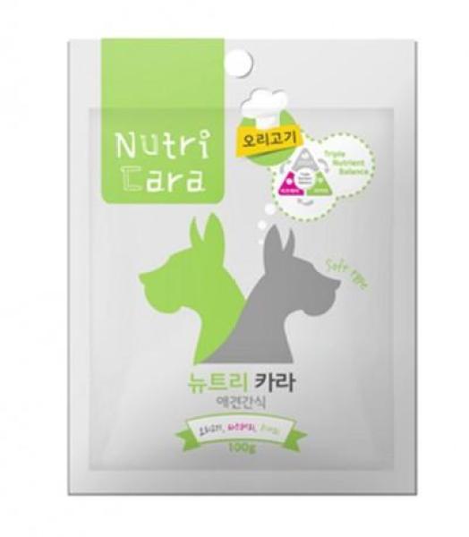 Snack Cho Chó Nutricara Hàn Quốc Vị Thịt Vịt - Duck Jerky 100gr