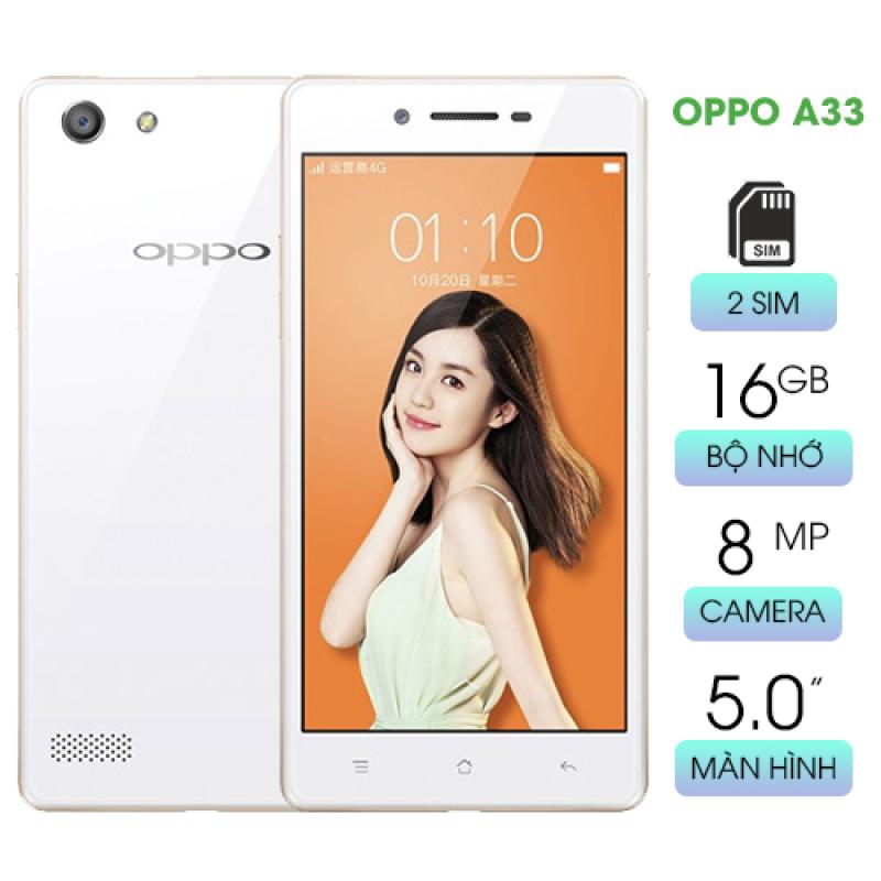 [SALE KHỦNG] Điện thoại Oppo A33 giá rẻ RAM 2GB bộ nhớ 16GB màn hình 5.0 rộng rãi