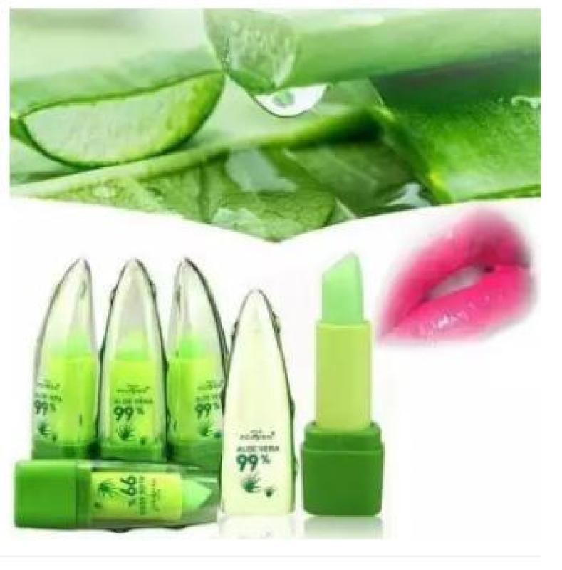 [Mẫu mới] SOn Dưỡng Môi Nha Đam Aloe Vera 99% giữ ẩm - Laha-Shop