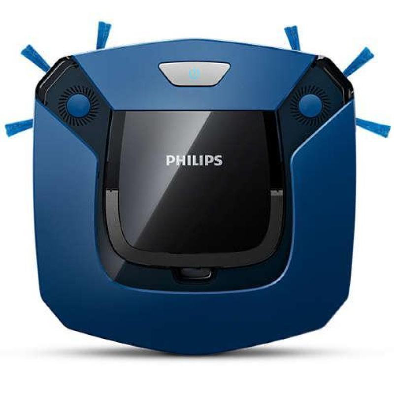 ( Robot hút bụi lau nhà ) Robot hút bụi thông minh Philips FC8792 ( Xanh đen ) - Bảo hành 24 tháng - Điều khiển từ xa