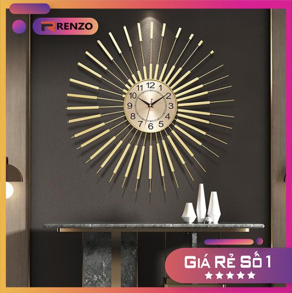 Nơi bán Đồng hồ treo tường đẹp hiện đại cao cấp trang trí đẹp cho văn phòng làm quà tặng tân gia DHTM002