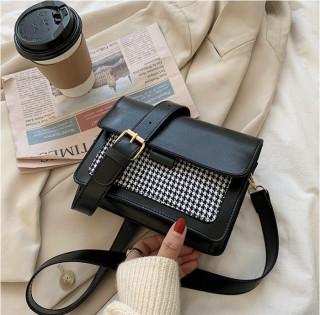 Túi Đeo Chéo Nữ Siêu Xinh Phong Cách Vintage 2 Màu Đen Nâu Cam Kết Y Hình, Túi Xách Nữ thumbnail
