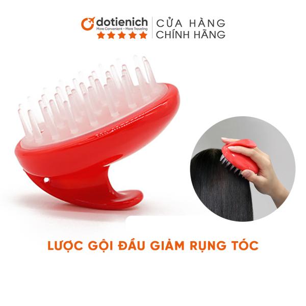 Lược gội đầu silicon giảm rụng tóc và làm sạch da đầu tiện dụng - dotienich cao cấp