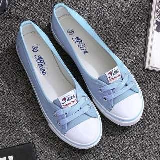 IELGY Giày Vải Cổ Điển, Giày Công Sở Nữ Màu Đen Thường Ngày Thời Trang Giày Hàn Quốc