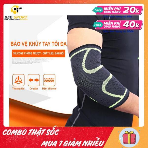 Bó khuỷu tay thể thao Aolikes AL7547 (1 cái) - Dụng cụ tập gym, bảo vệ khuỷu tay khỏi chấn thương khi chơi thể thao