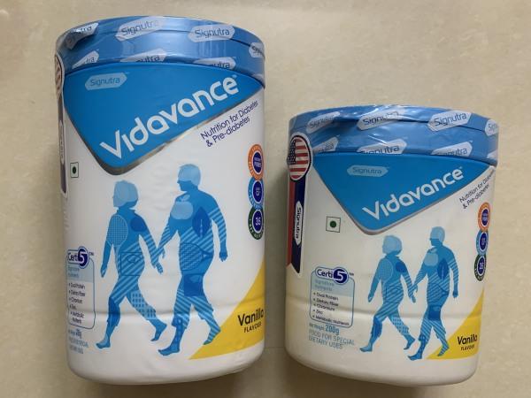 Combo 1 lon Vidavance 400gr tặng 1 lon Vidavance 200gr Sữa Dinh dưỡng cho người đái tháo đường giá rẻ