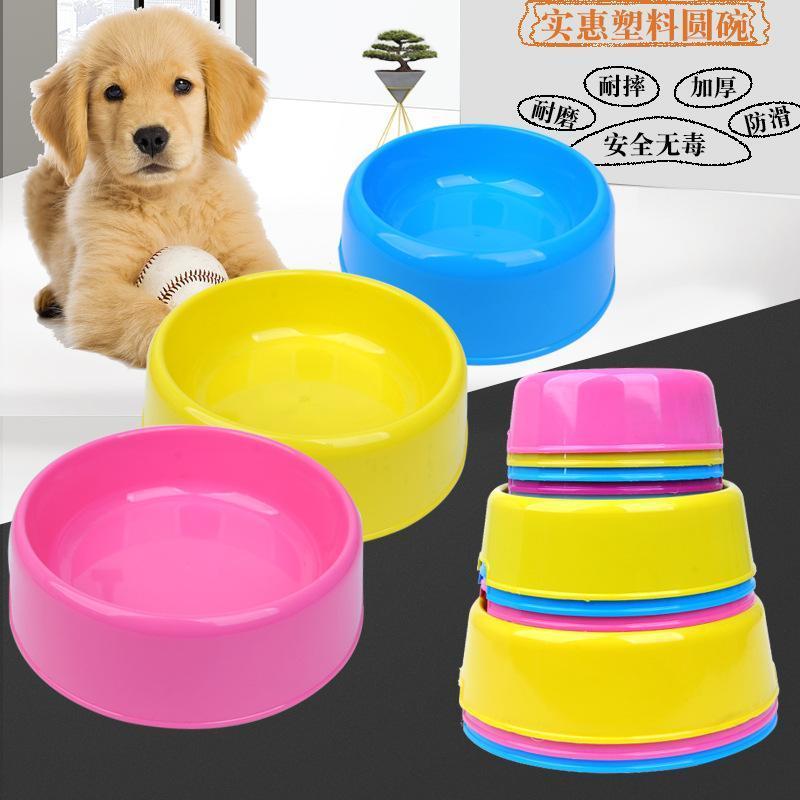 Bát ăn đơn nhựa cho thú cưng Size L