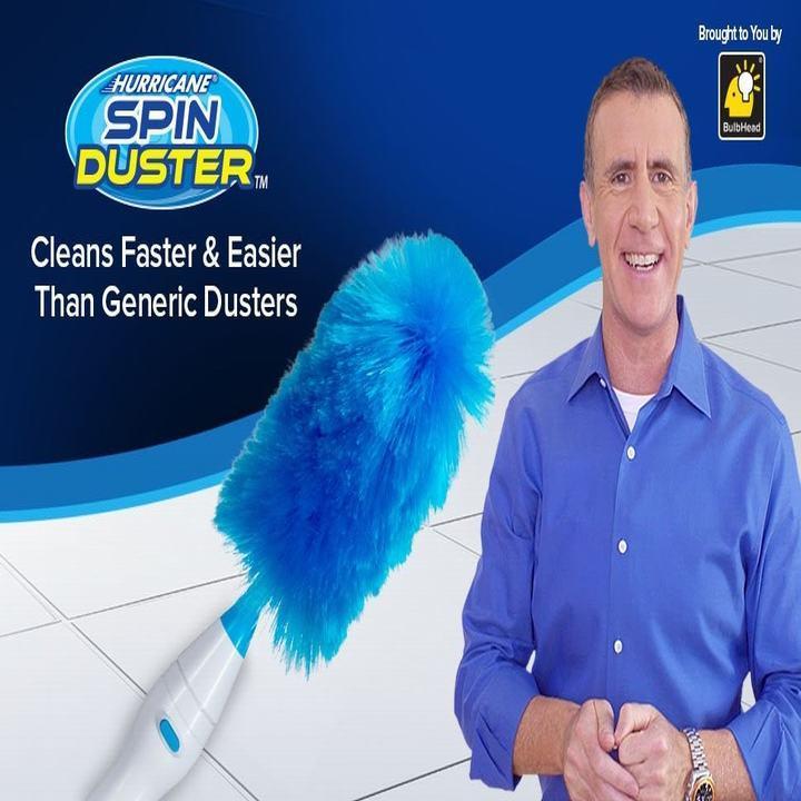 Chổi quét bụi thông minh Spin Duster CHỔI QUÉT BỤI THÔNG MINH SPIN DUSTER Có sạc PIN- Cam kết hàng đúng hình mô tả