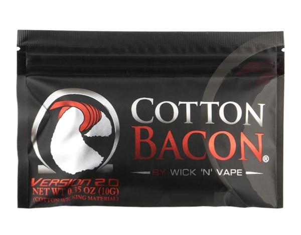 Thịt Xông Khói Bông Cotton Hữu Cơ Bông Bấc Cho Rebuildable RDA RBA Tự Làm Cotton Bacon Sưởi Ấm Cuộn Dây tốt nhất