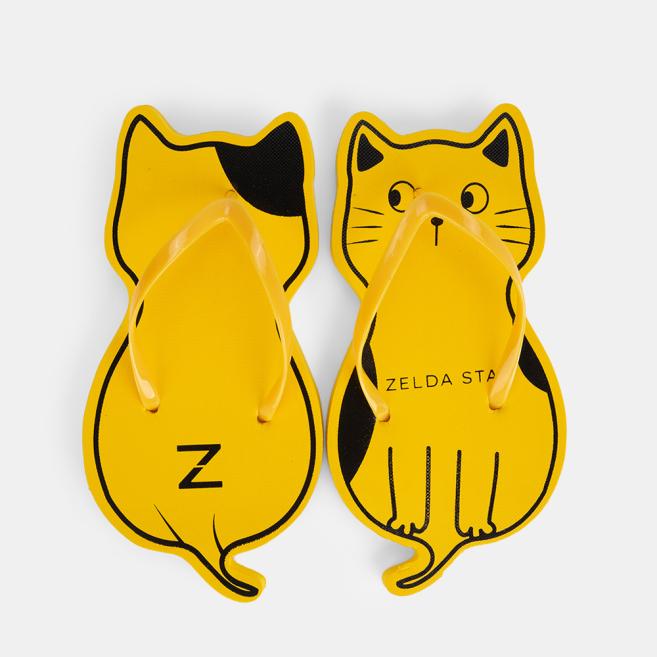 Dép con mèo, dép xốp thái Zelda Star FREESIZE - DX0380321 giá rẻ