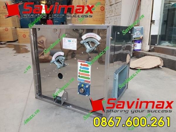 NEW Thùng thổi trấu inox SV 1050 -bảo hành 12 tháng