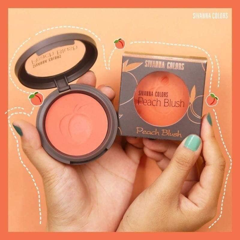 Phấn Má Hồng Sivanna Peach Blusher HF6017 Thơm Mùi Đào Iu Quá Iu tốt nhất