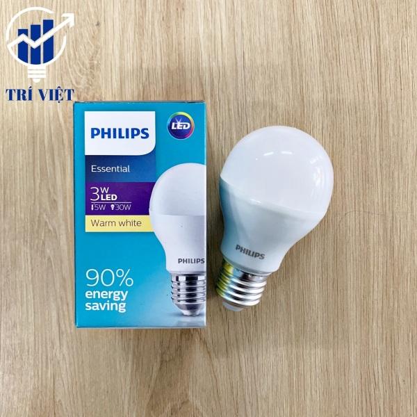 Combo 5 Bóng đèn led Philips 3W - Bóng Led Tiết Kiệm Điện