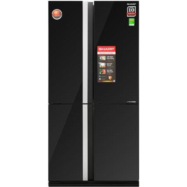 Bảng giá Tủ lạnh Sharp 678 lít SJ-FX688VG-BK 4 cánh mặt gương đen Điện máy Pico