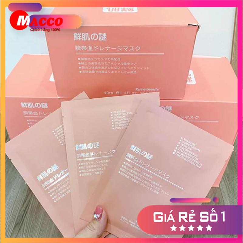 [HÀNG CHÍNH HÃNG] Mặt nạ nhau thai tế bào gốc Rwine Beauty Stem Cell Placenta Mask - Giải pháp làm đẹp tối ưu của người Nhật Bản