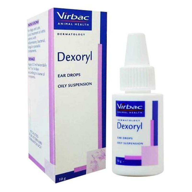 Dexoryl - Trị viêm tai cho chó mèo Virbac