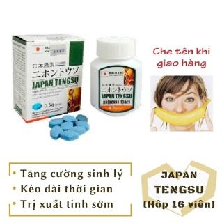 Viên TENGSU cao cấp tăng cường sinh lý nam mạnh mẽ (hộp 16 viên) - japan - hàng chính hãng thumbnail