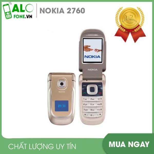 [Nhập ELMAR31 giảm 10% tối đa 200k đơn từ 99k]Điện thoại nắp gập nhỏ gọn Nokia 2760