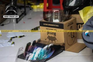 Kính gắn nón bảo hiểm Cho dòng Roc 1 Kính, Roc 2 kính, Royal m137 và m138 thumbnail