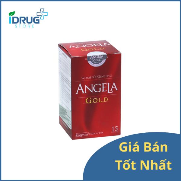 Sâm Angela Gold - Tăng cường sinh lý nữ (15 viên) nhập khẩu
