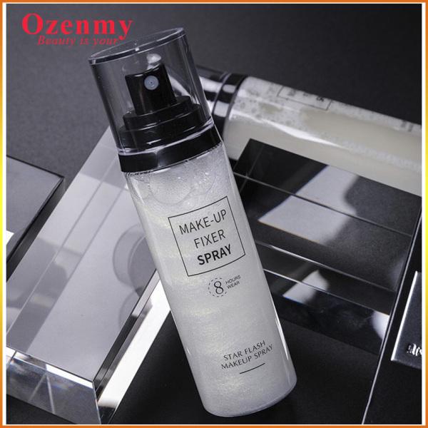 [TUYỆT PHẨM]  Xịt khoá make up Ozenmy giữ lớp nền lâu trôi suốt nhiều giờ liền mà không bị xuống tone nền, xịt giữ ẩm, kìm dầu suốt 12h.