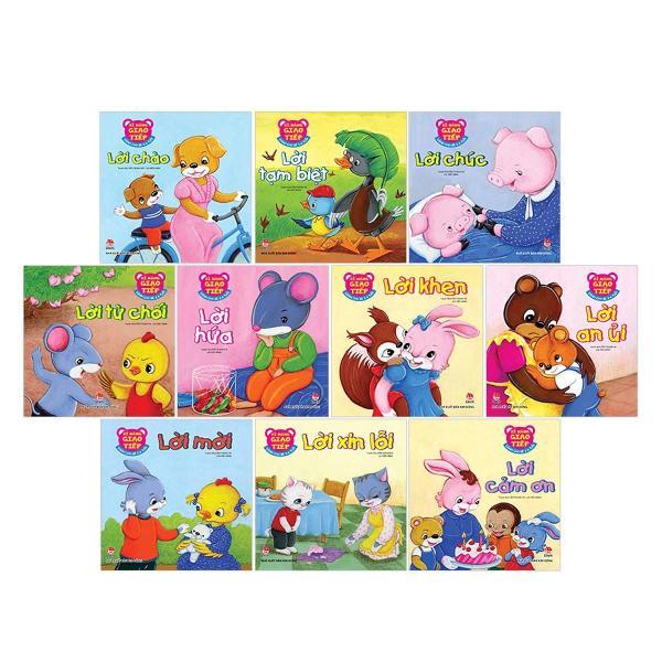 Mua Bộ 10 quyển kĩ năng giao tiếp cho bé từ 2 tuổi