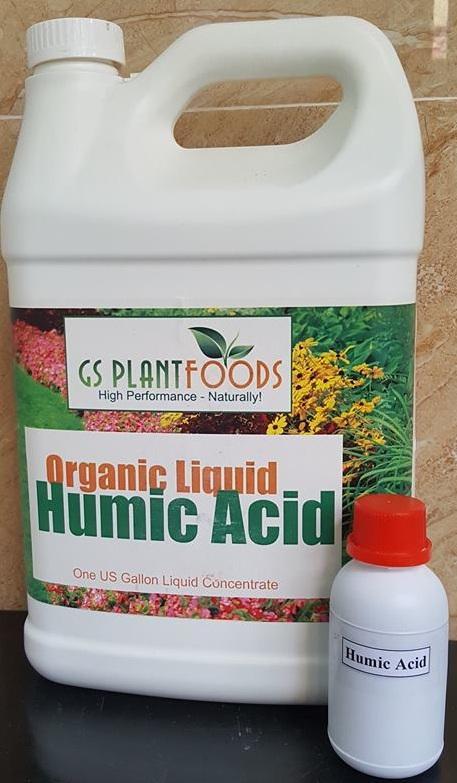 Phân bón hữu cơ Humic Acid 100ml (Chiết từ can 1 gallon - Hàng Mỹ)