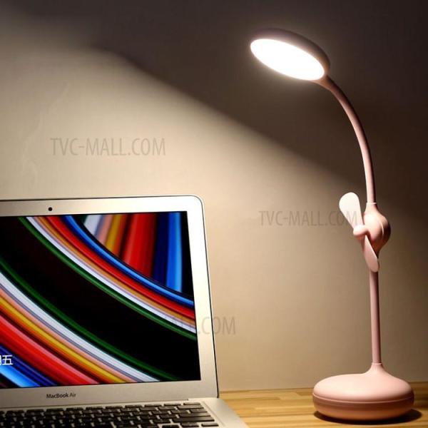 Đèn LED thông minh kiêm quạt tích điện Remax RT-E601