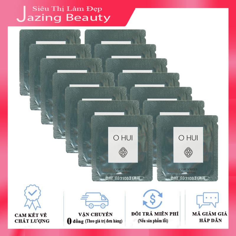 [Có Mã giảm Giá] Combo 15 Tẩy Tế Bào Chết Ohui Clear Science Soft Peeling 1mlx15 giá rẻ