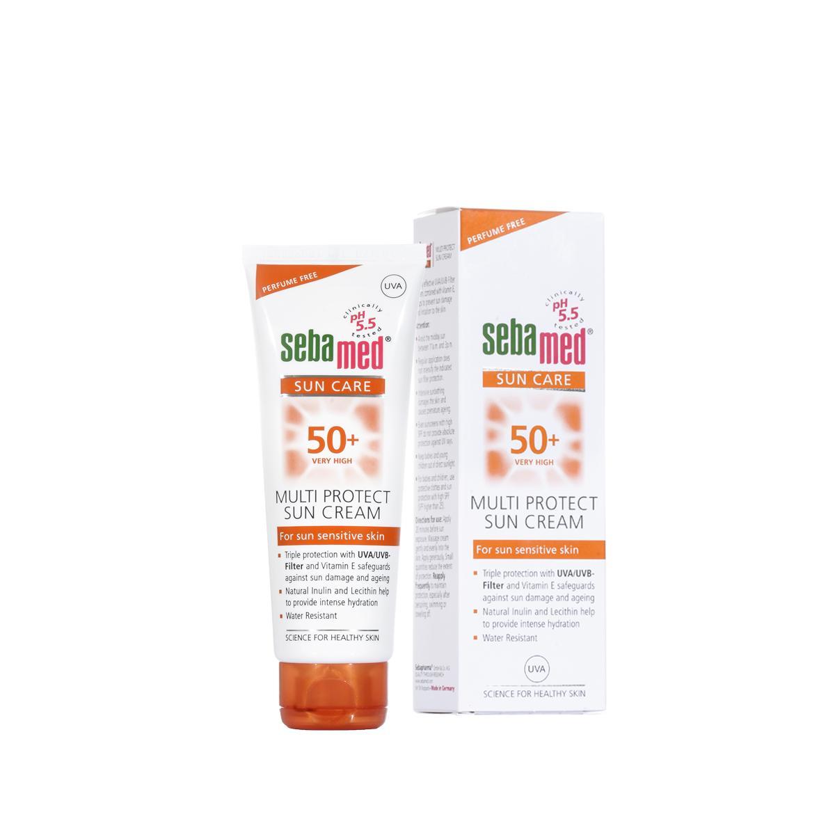 Kem chống nắng SPF50+ dành cho da nhạy cảm Sebamed pH5.5