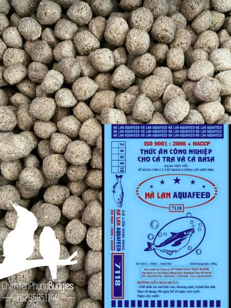 1KG | CÁM CÁ HÀ LAN 7118 viên 10 li dùng để câu cá, thức ăn cá.