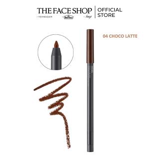 Bút Kẻ Viền Mắt THEFACESHOP Inkgel Pencil Eyeliner 04 Choco Latte thumbnail