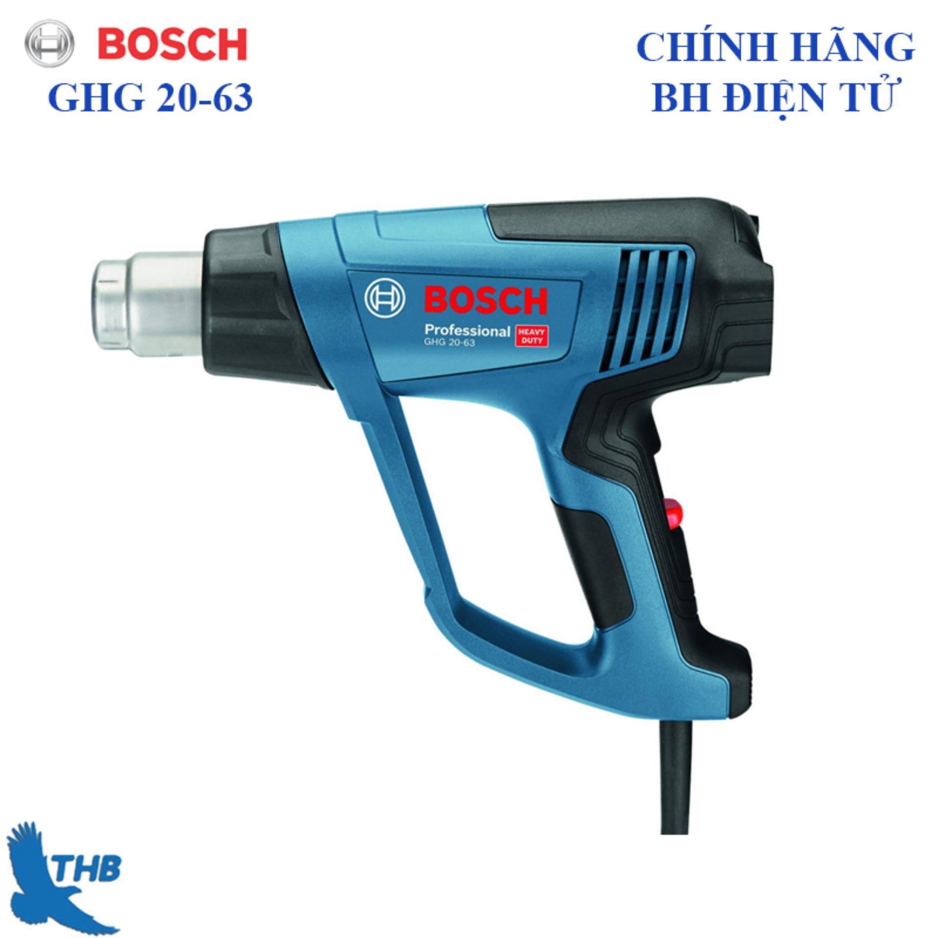 Máy thổi hơi nóng, máy khò nhiệt Bosch GHG 20-63