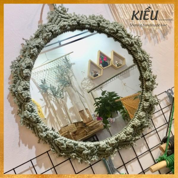 🌺 🌺 Gương tròn size 30 làm Macrame, trang trí decor 🌺 🌺 giá rẻ