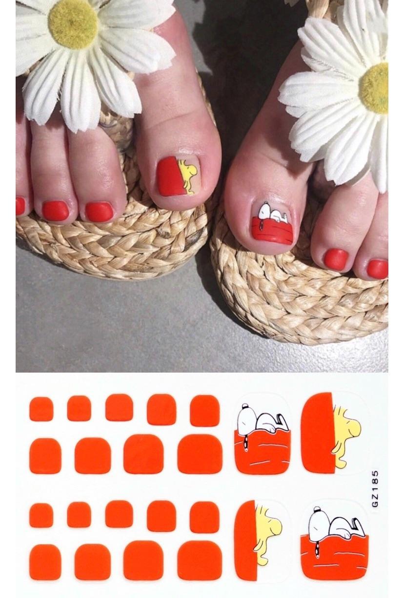 sticker dán móng chân Gz 178-193 tốt nhất
